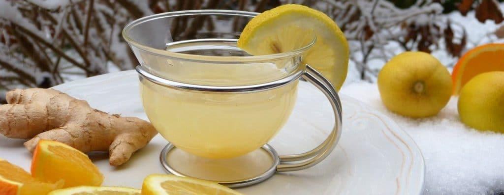 Remedios para prevenir la neumonía. Limón y jengibre.
