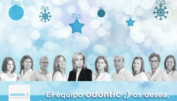 Clínica dental Odontic os desea Feliz Navidad y próspero 2019.